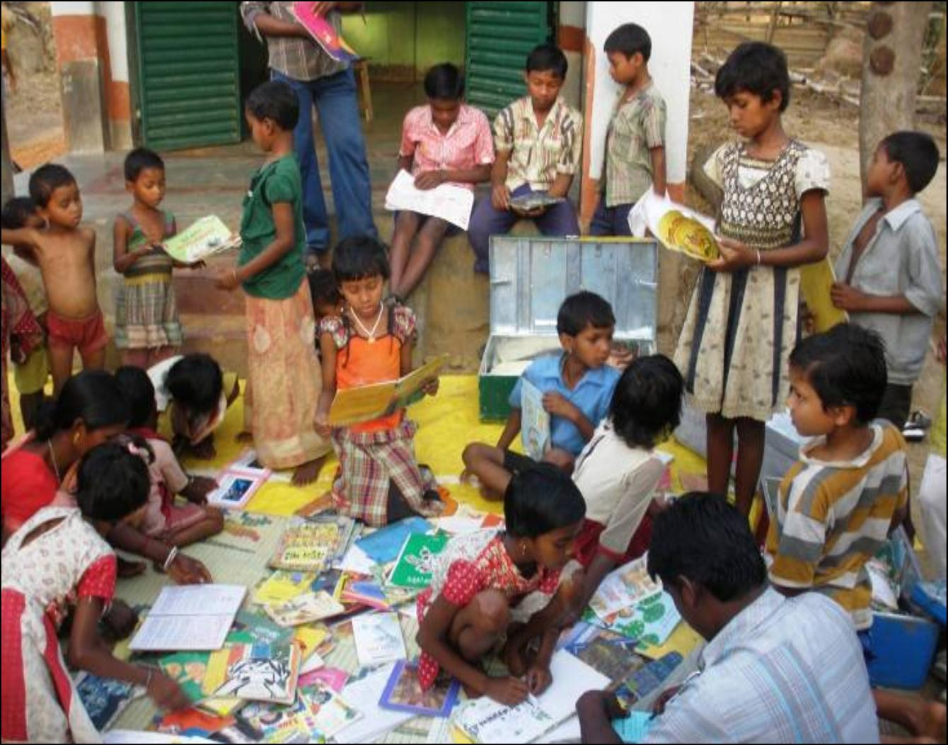 Children's Mobile Library Picture